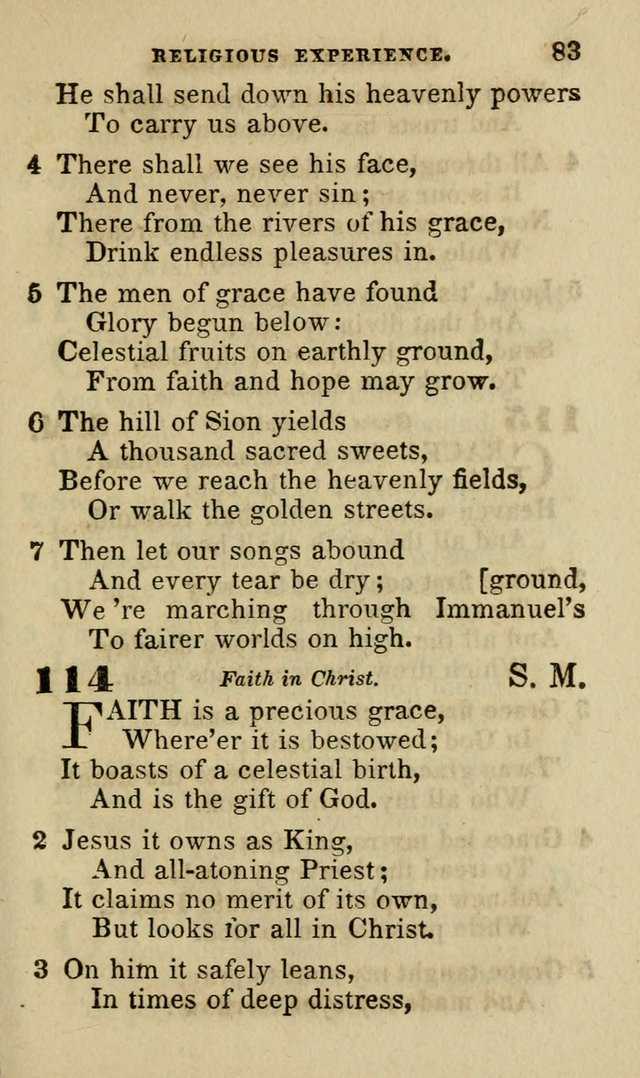 Hymns for Youth, Suitable to be Used in Sabbath and Parochial Schools page 94