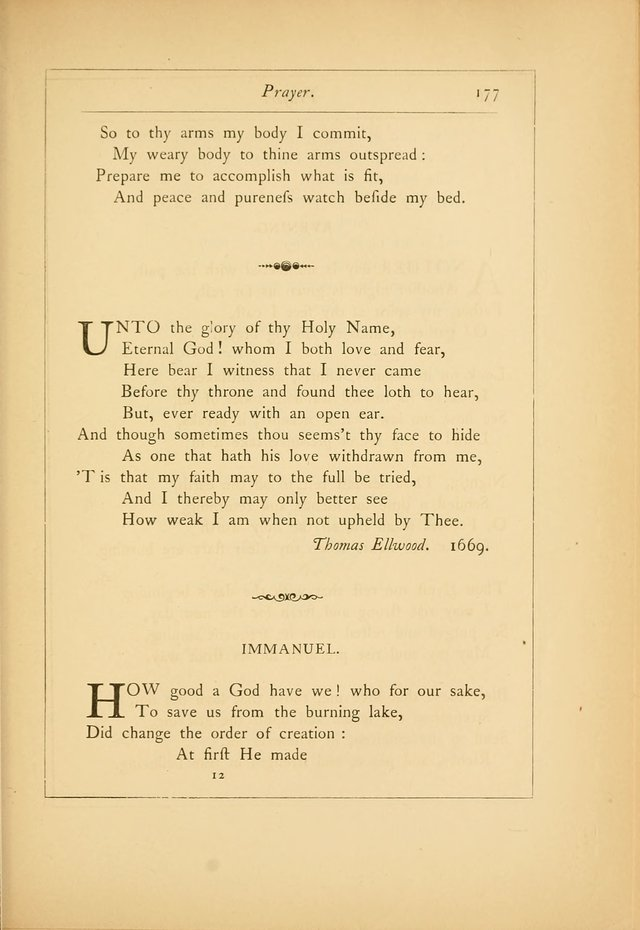Hymns of the Ages: being selections from Wither, Cranshaw, Southwell, Habington, and other sources (2nd series) page 177