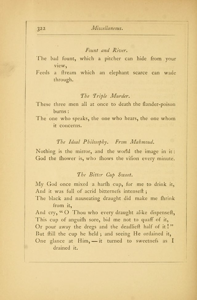 Hymns of the Ages: being selections from Wither, Cranshaw, Southwell, Habington, and other sources (2nd series) page 322