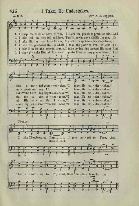 Hymns of the Christian Life page 365
