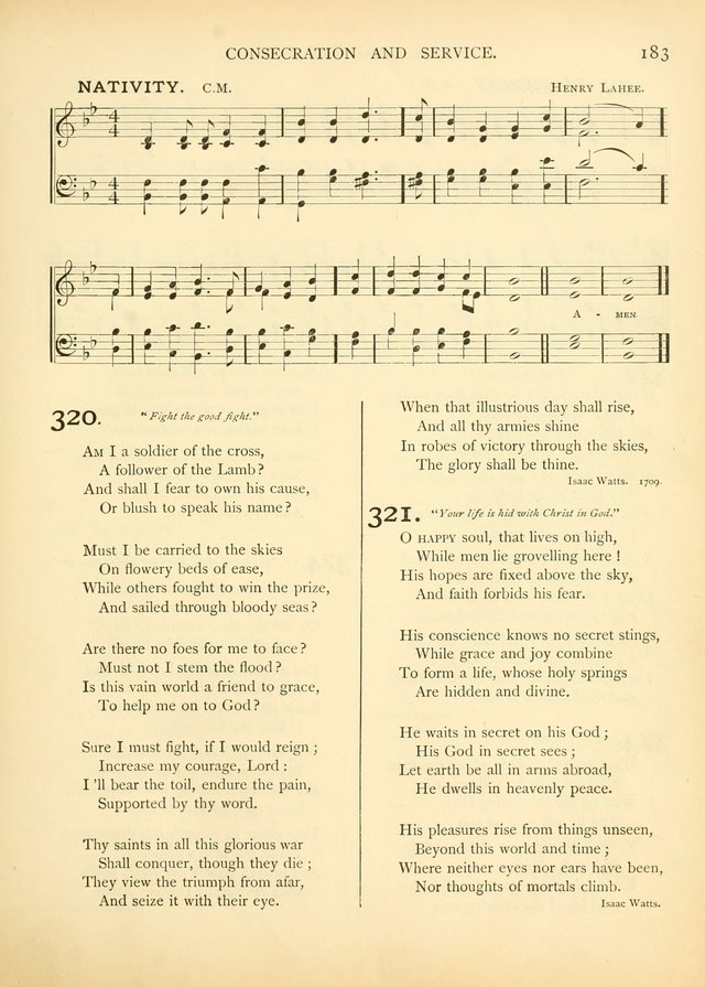 Hymns of the Church Universal page 198