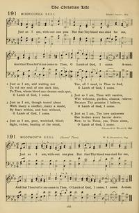 Lyric just as i am without one plea lyrics : MISERICORDIA | Hymnary.org