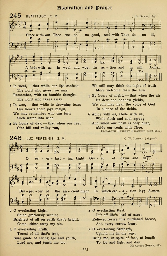 The Hymnal of Praise page 216