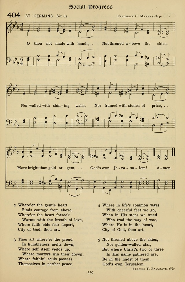 The Hymnal of Praise page 340