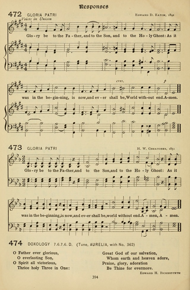 The Hymnal of Praise page 395