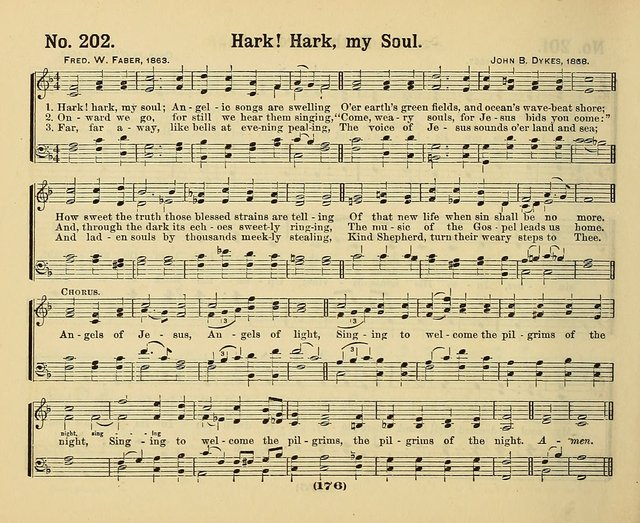 Hymns of Praise, with Tunes: selected for use in Sunday school, prayer meeting, and home circle page 176