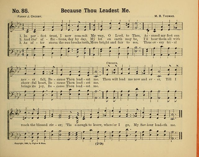 Hymns of Praise, with Tunes: selected for use in Sunday school, prayer meeting, and home circle page 79