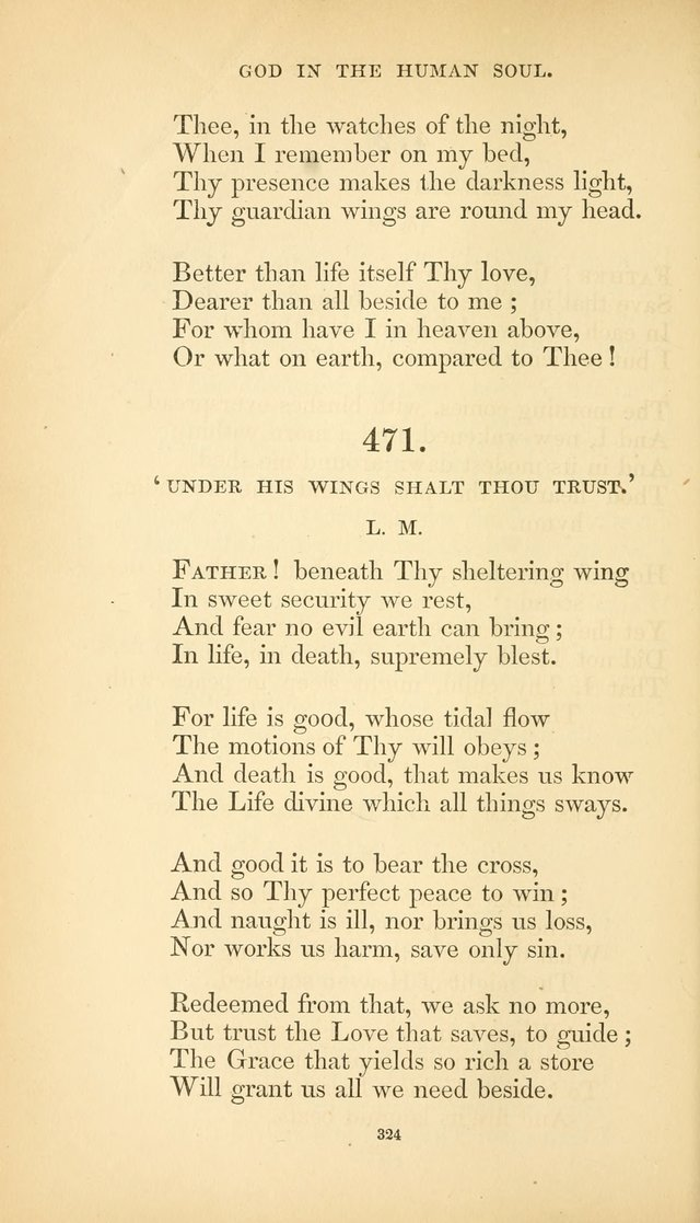 Hymns of the Spirit page 332