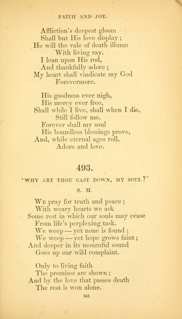 Hymns of the Spirit page 349