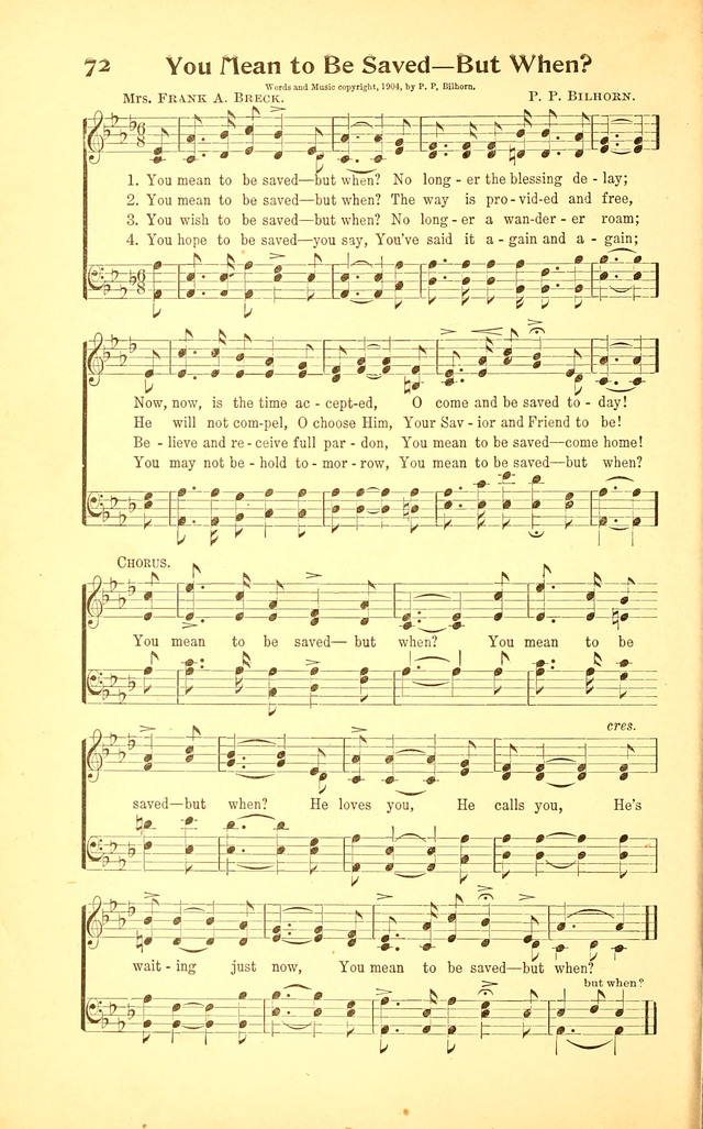 International Gospel Hymns and Songs page 70