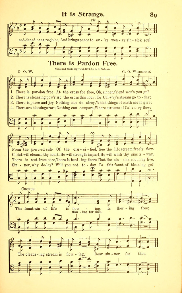International Gospel Hymns and Songs page 87