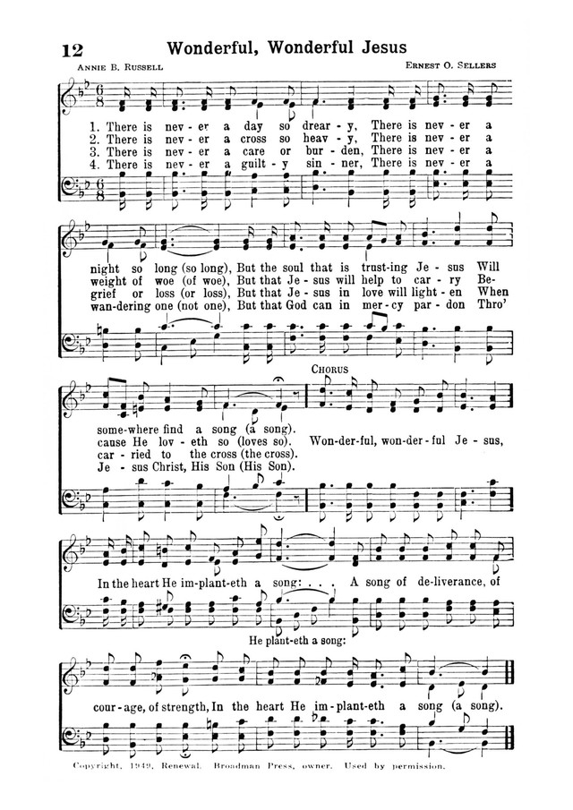 Inspiring Hymns page 12