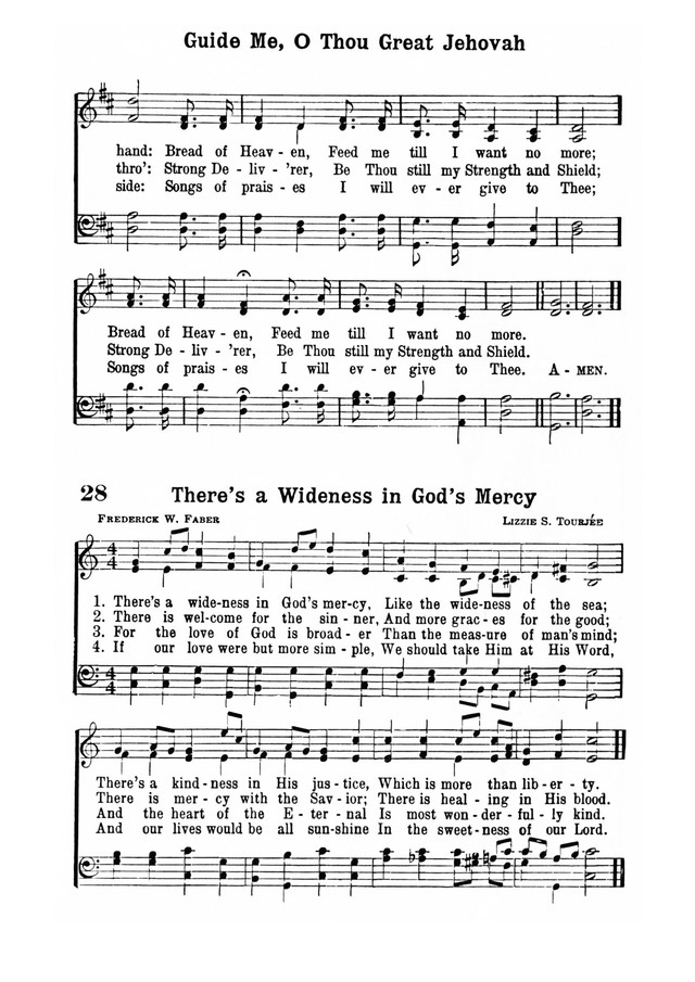 Inspiring Hymns page 25