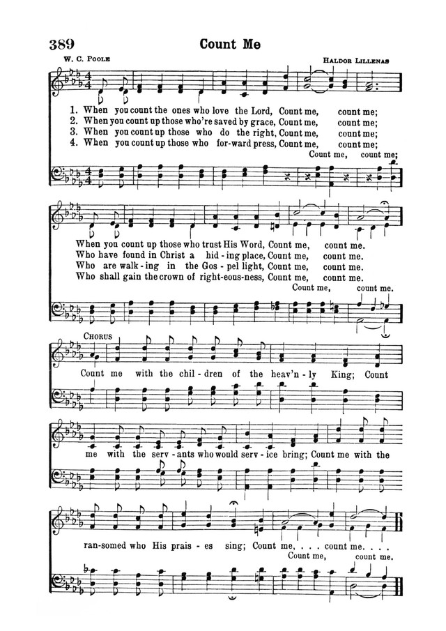 Count Me   Hymnary.org