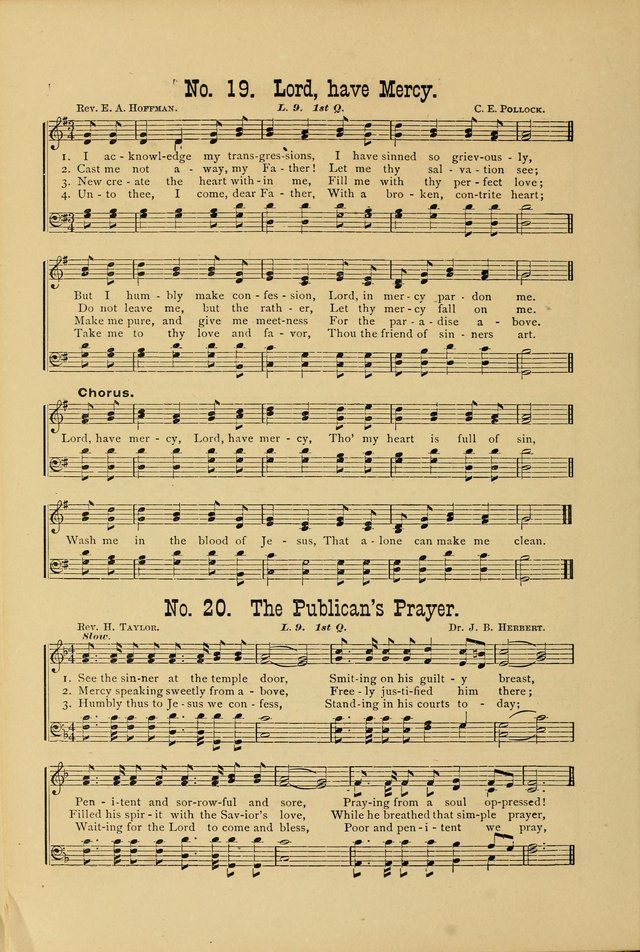 The International Lesson Hymnal page 14