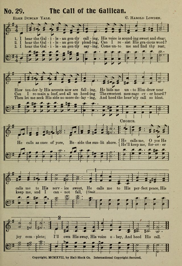 The call of the Galilean | Hymnary org