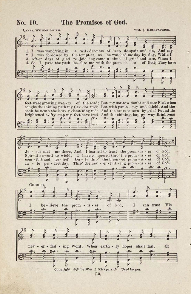 The Joy Bells of Canaan or Burning Bush Songs No. 2 page 10