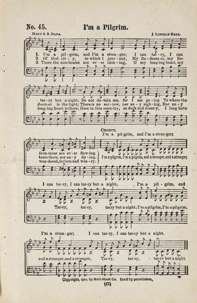 The Joy Bells of Canaan or Burning Bush Songs No. 2 page 45