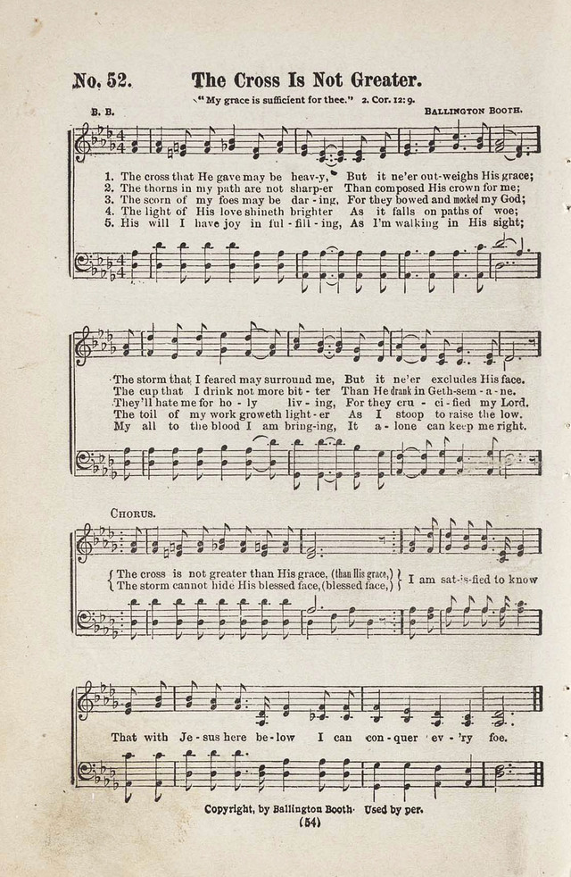 The Joy Bells of Canaan or Burning Bush Songs No. 2 page 52