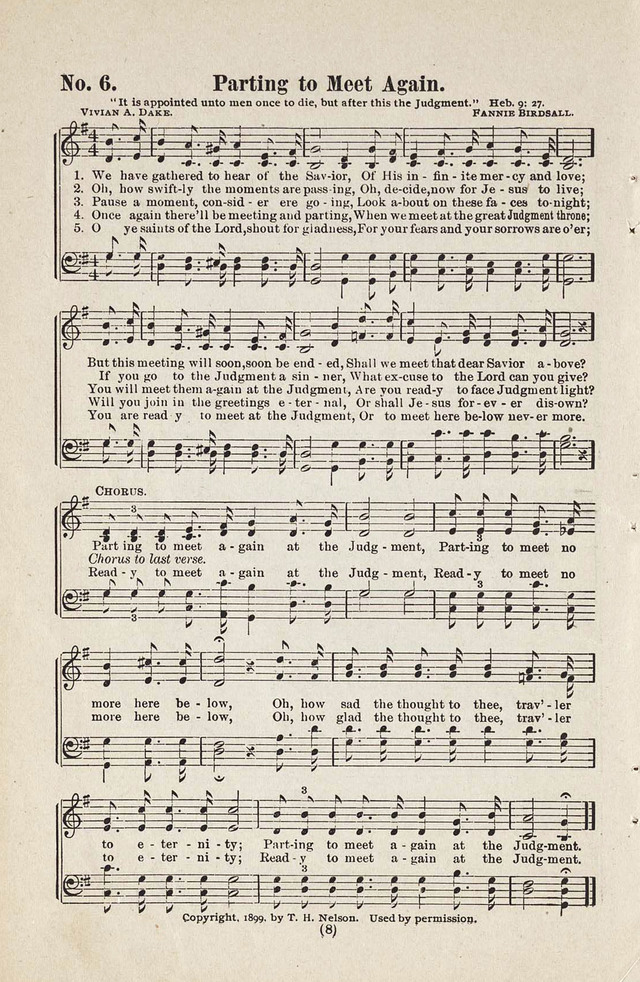 The Joy Bells of Canaan or Burning Bush Songs No. 2 page 6