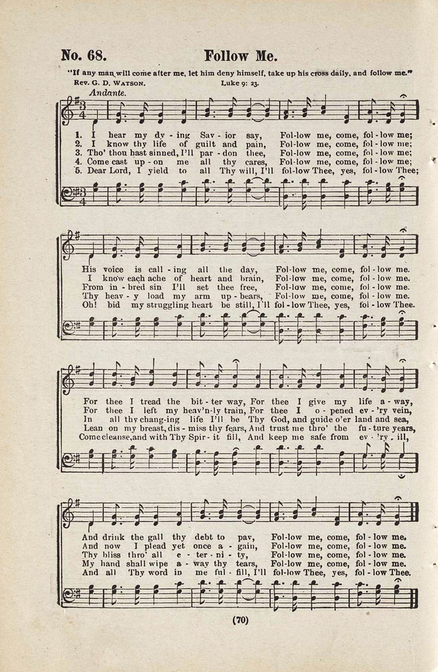 The Joy Bells of Canaan or Burning Bush Songs No. 2 page 68