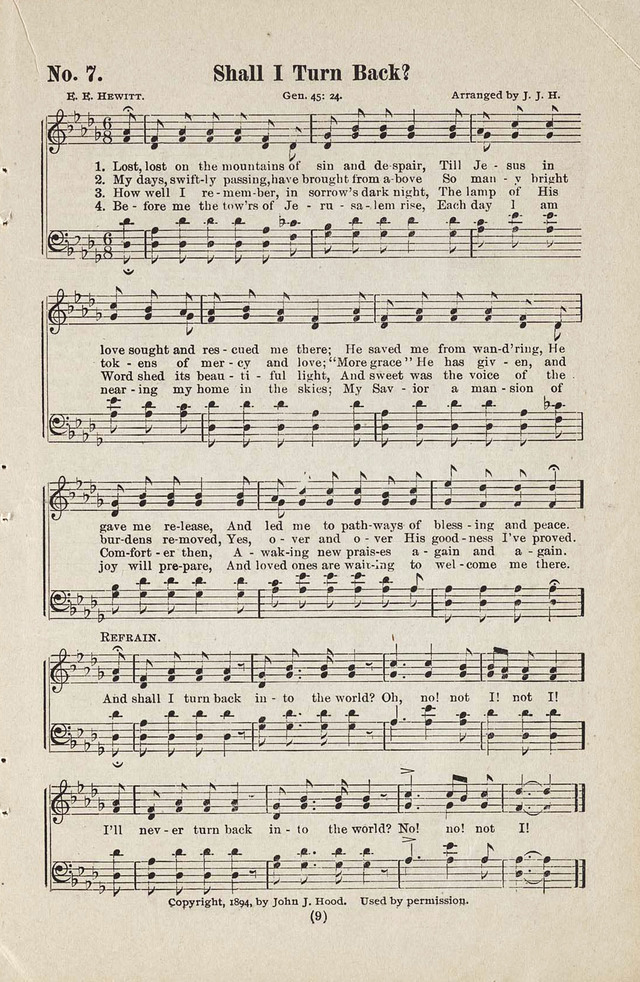 The Joy Bells of Canaan or Burning Bush Songs No. 2 page 7