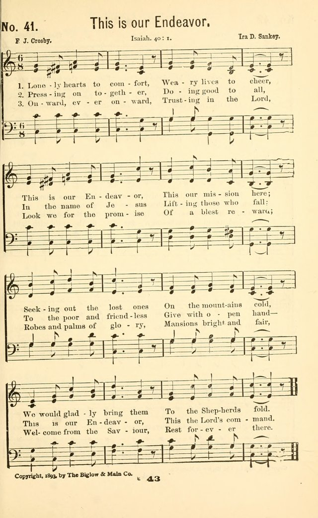 Junior Christian Endeavor Songs page 48