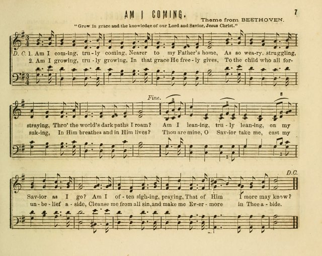 Joyful Songs; a choice collection of new Sunday School music page 7