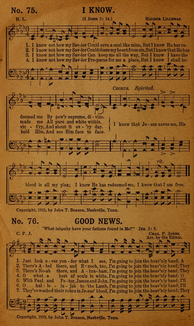Jewel Songs: suitable for all kinds of religious services page 72