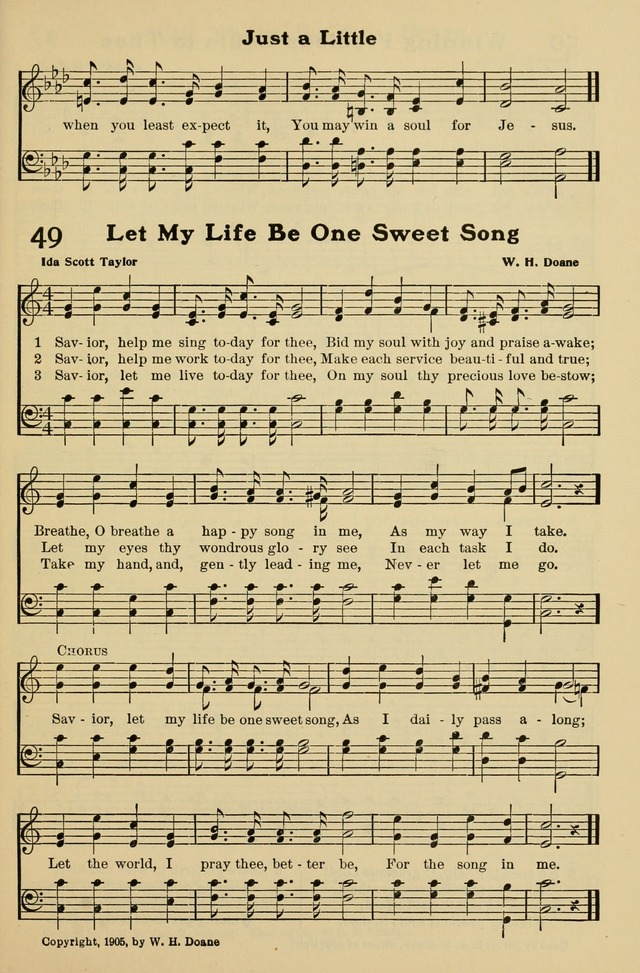 All Music Chords one sweet day sheet music : Savior, help me sing today for Thee - Hymnary.org