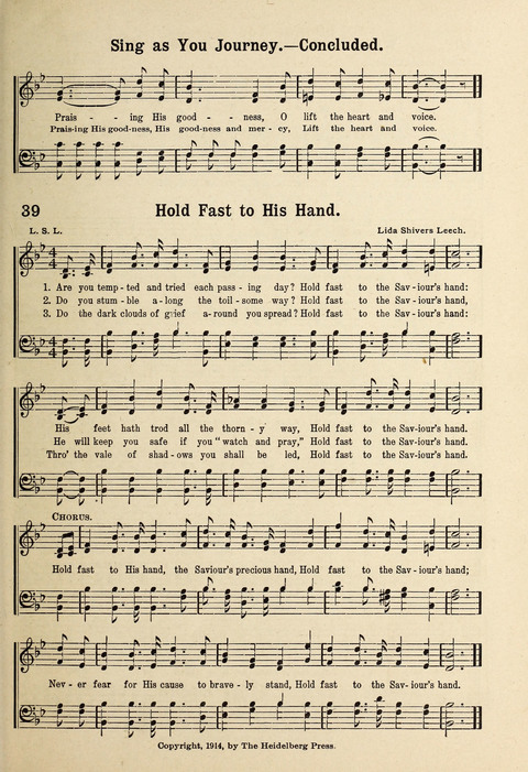 Kingdom Songs: for use in the Sunday School, the young people