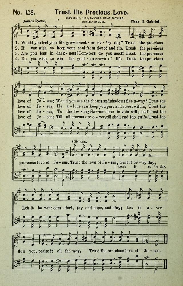 Trust His Precious Love Hymnaryorg