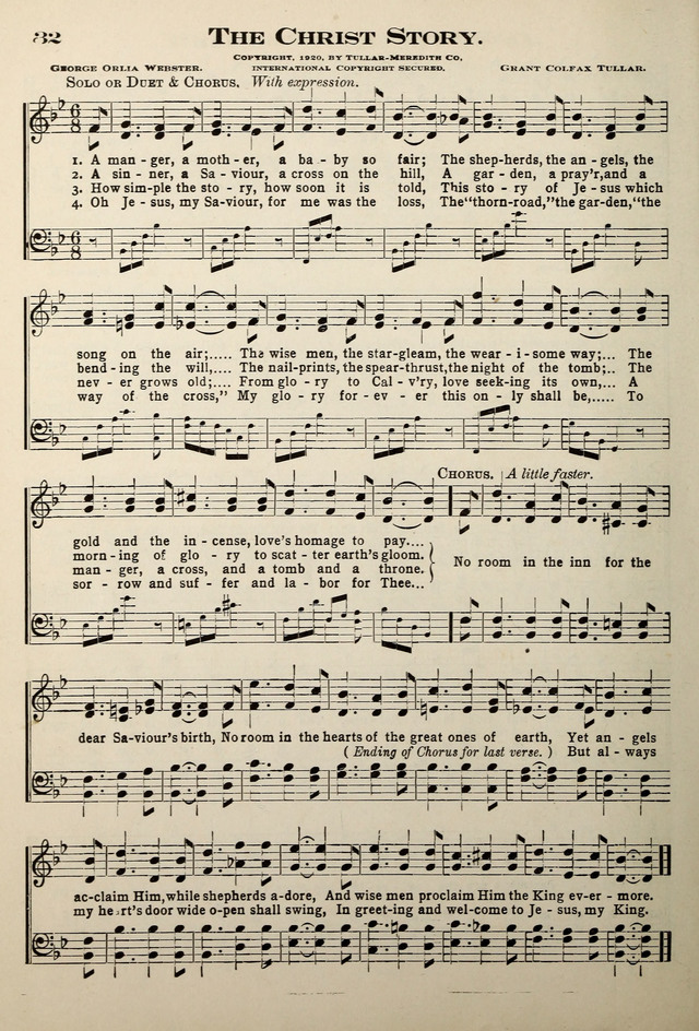 The Christ story | Hymnary.org