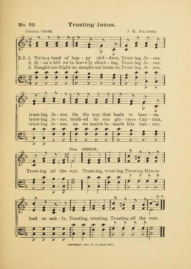 Little Branches: a collection of songs prepared especially for the primary and infant departments of the sunday school page 55