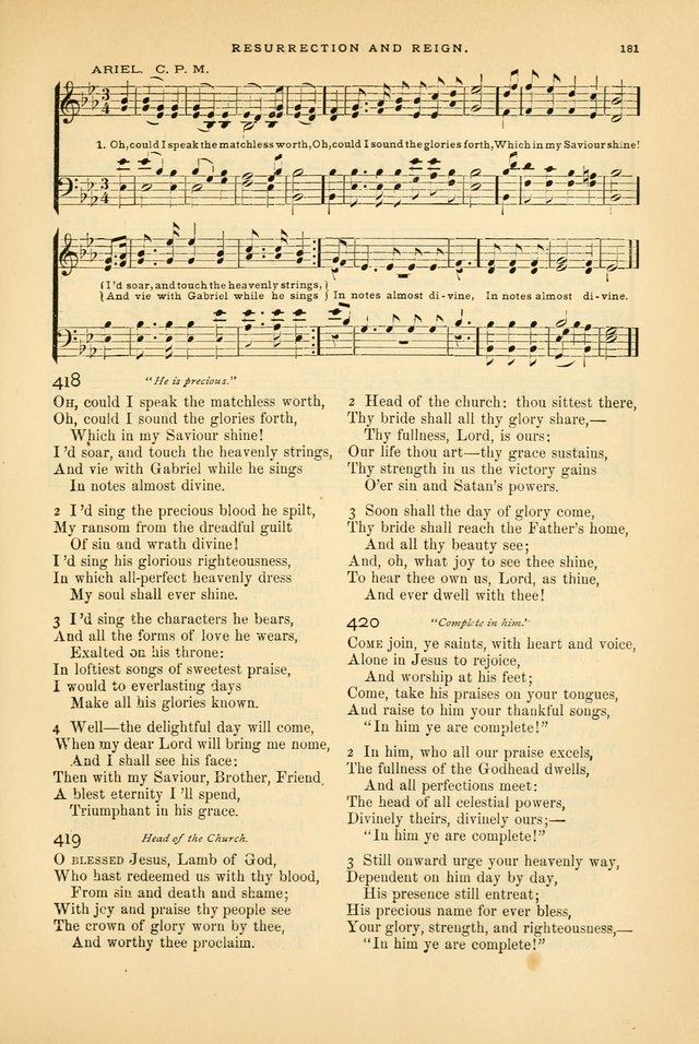 Laudes Domini: a selection of spiritual songs ancient and modern page 181