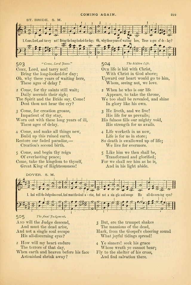 Laudes Domini: a selection of spiritual songs ancient and modern page 219