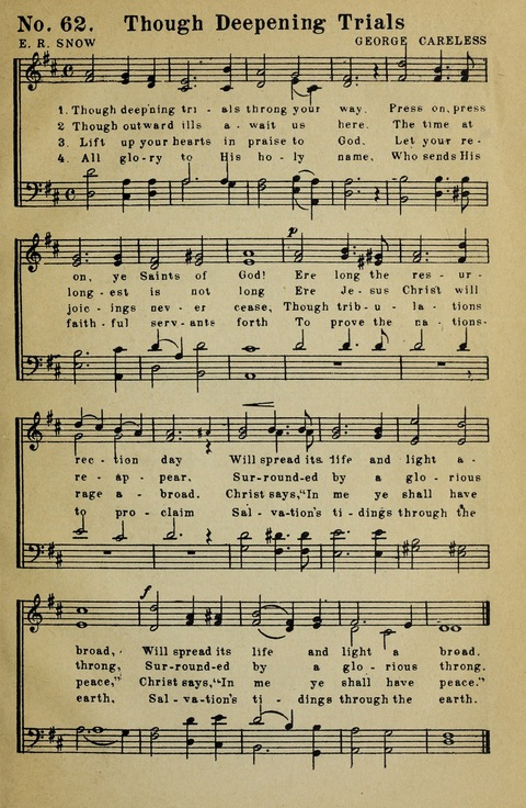 Latter-Day Saints Congregational Hymns page 61