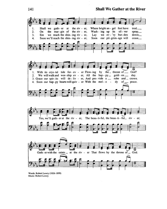 Lift Every Voice and Sing II: an African American hymnal page 171