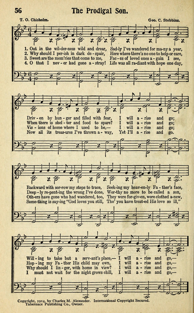 Living Gospel Songs and Choruses page 56