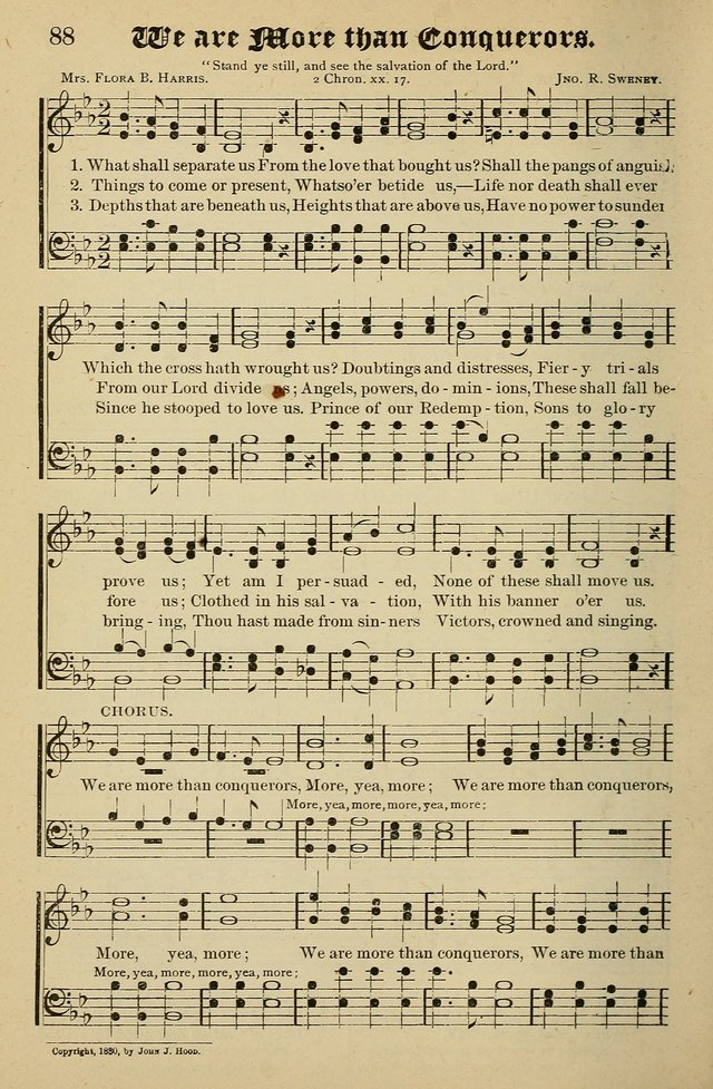 Living Hymns: for use in the Sabbath School, Christian Endeavor Meetings, the church & home page 88