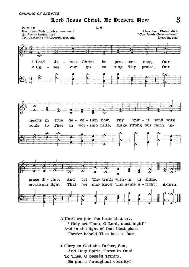 The Lutheran Hymnal page 173