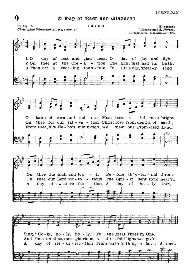 The Lutheran Hymnal page 180