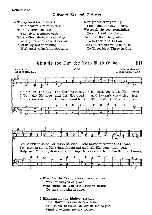 The Lutheran Hymnal page 181