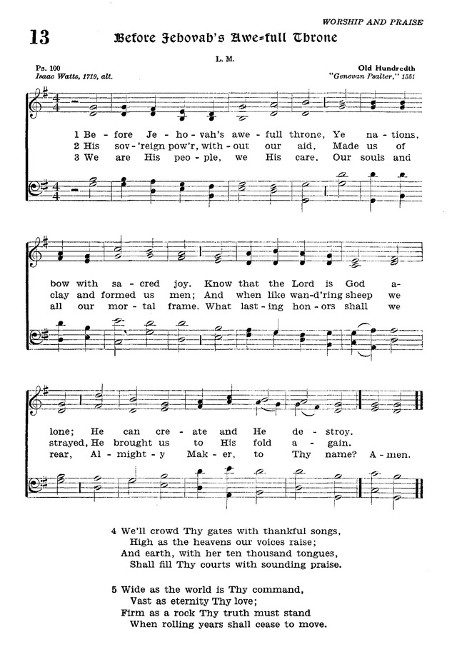 The Lutheran Hymnal page 184