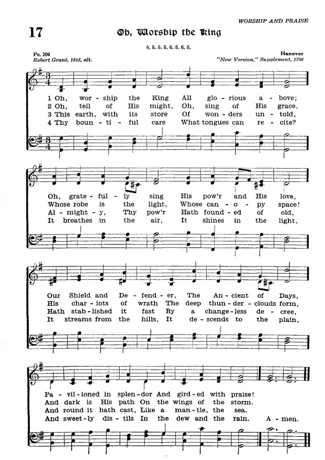 The Lutheran Hymnal page 188