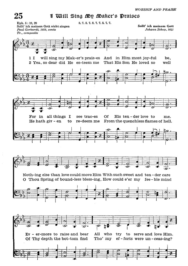 The Lutheran Hymnal page 196