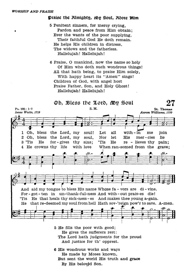 The Lutheran Hymnal page 199