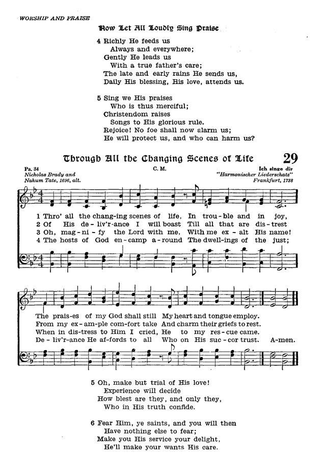 The Lutheran Hymnal page 201