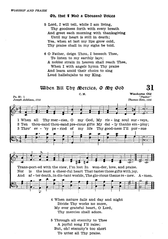 The Lutheran Hymnal page 203