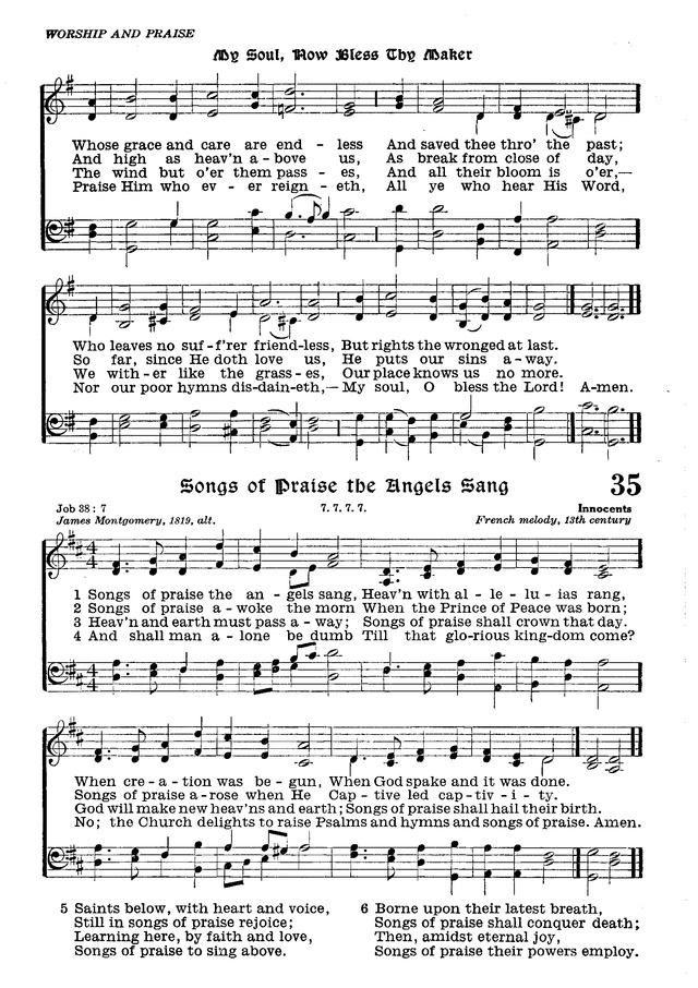 The Lutheran Hymnal page 207